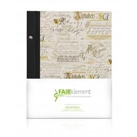 Geschäftsbuch Lettering, A4