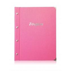 Zeugnismappe Pink, A4