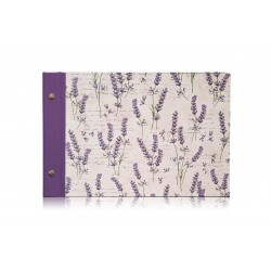 Fotoalbum Lavendel, A4 quer
