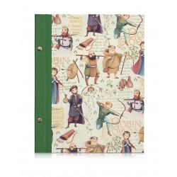 Skizzenbuch Robin Hood, A4