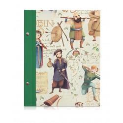 Skizzenbuch Robin Hood, A5