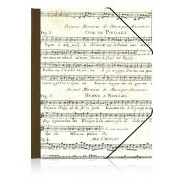 Eckspannmappe Alte Musik, A4